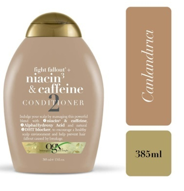Organix Ogx Dökülme Karşıtı Niacin &Amp; Caffeine Bakım Kremi 385 Ml Renksiz
